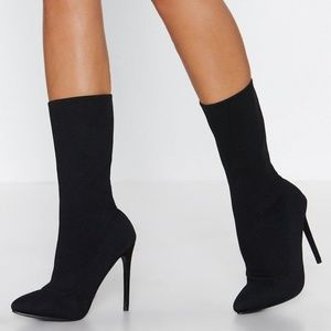 Sock It to Them Bootie from Nasty Gal